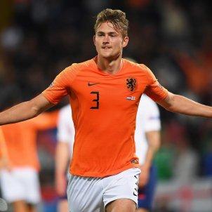 De Ligt Holanda Anglaterra EFE