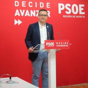 Diego Conesa PSOE Partit Socialista Murcia Europa Press