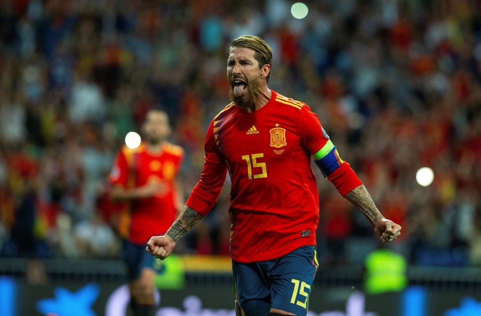 Sergio Ramos selecció espanyola Espanya Suècia EFE