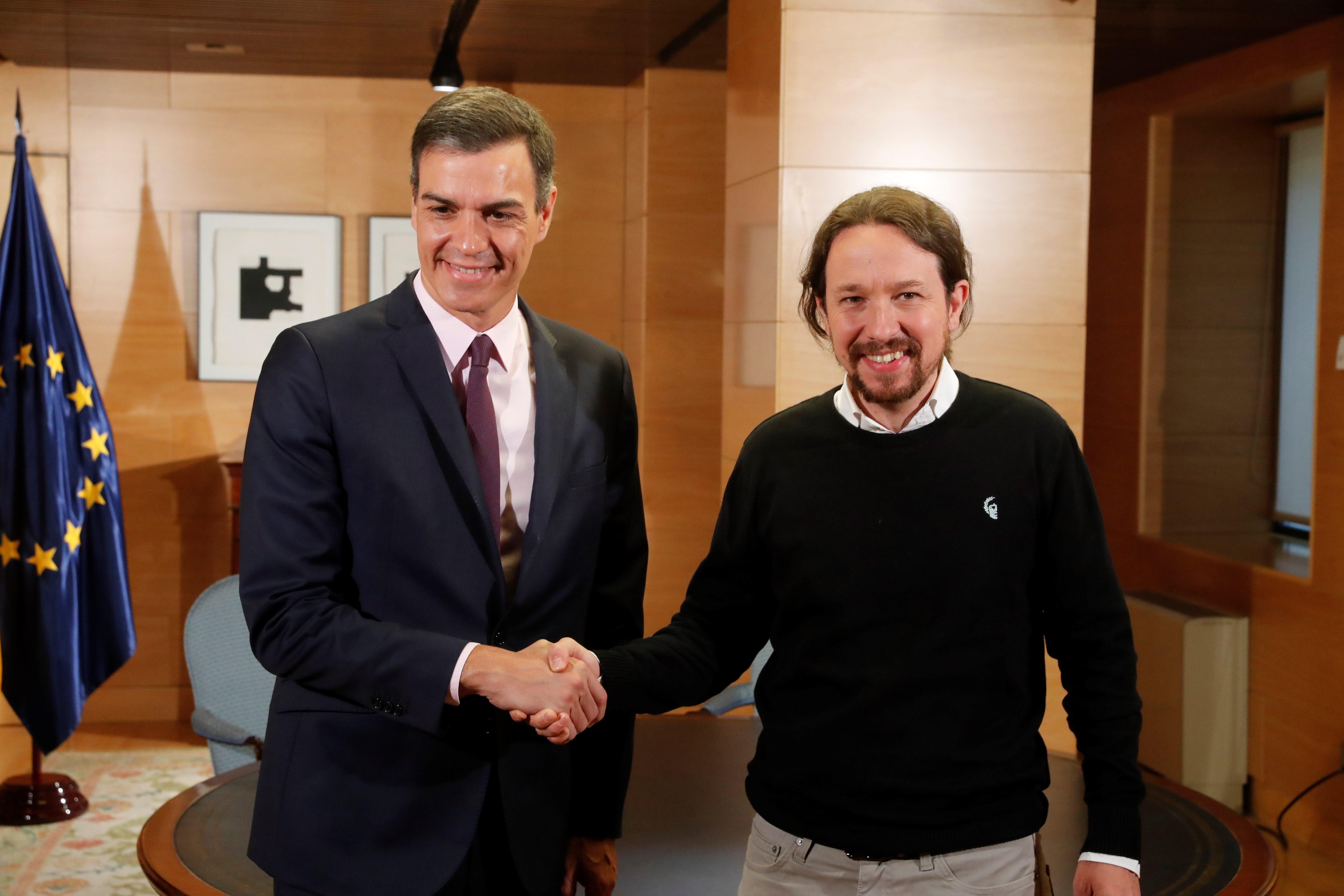 Pedro Sánchez Pablo Iglesias reunió 11 de juny del 2019 EFE