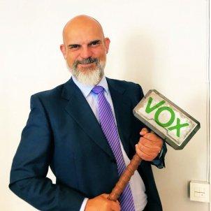 Víctor Sánchez del Real Vox Badajóz
