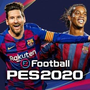 Portada Messi Ronaldinho Pro Evolution Soccer FC Barcelona