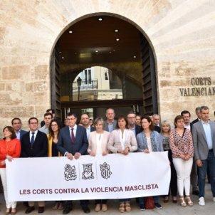 Minut silenci   Corts Valencianes