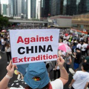 Hong Kong manifestació contra llei extradició 2 EFE
