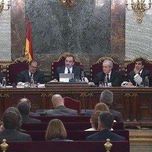 judici procés últim dia vista tribunal Marchena EFE