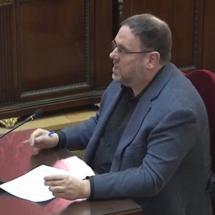 Judici proces ultima paraula Oriol Junqueras