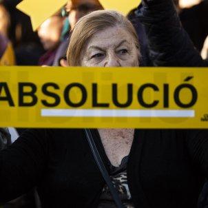 Manifestacio final Judici Proces absolució - Sergi Alcàzar