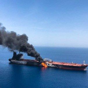 petroliers atacats oman - efe