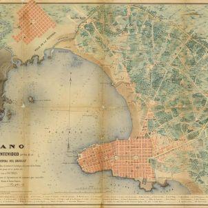 Montevideo. Plànol de 1867