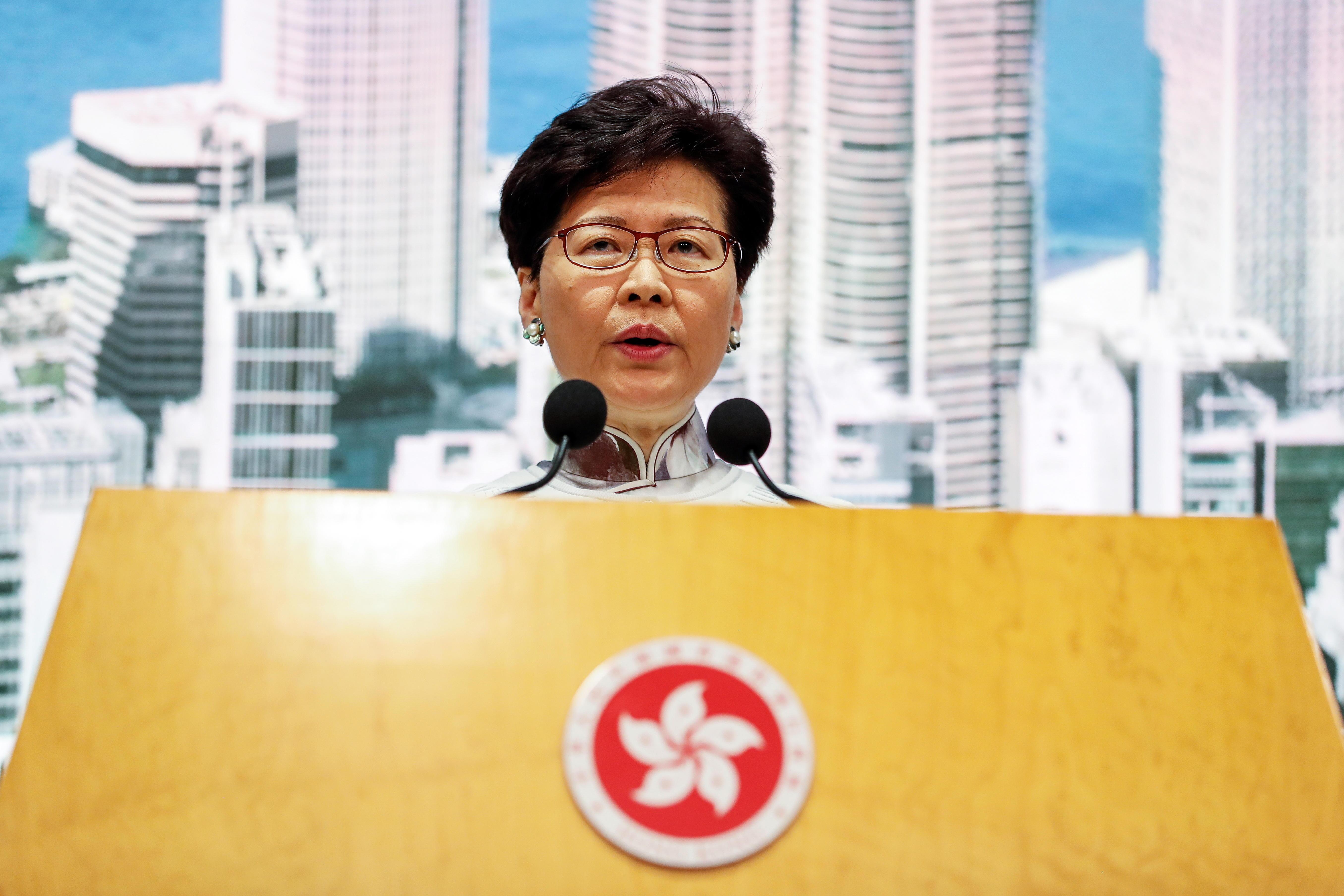 Carrie Lam hong kong - efe