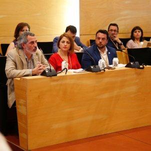 David Torrents Àlex Pastor ple constitucio ajuntament badalona - Sergi Alcàzar