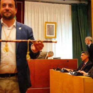 Àlex Pastor Xavier Garcia Albiol ple constitucio ajuntament badalona - Sergi Alcàzar