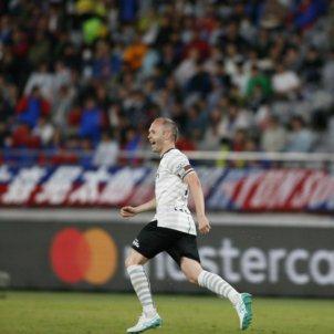Andres Iniesta Vissel Kobe gol @visselkobe