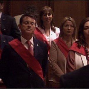 Valls no canta Segadors TV3