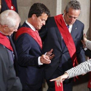 EN Manuel Valls ple investidura Sergi Alcàzar