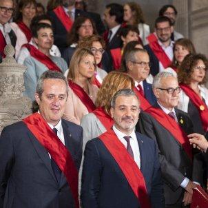 Maragall Collboni regidors Ple Constitució Ajuntament de Barcelona - Sergi Alcàzar