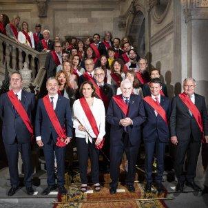 Maragall Collboni Colau Valls Bou regidors Ple Constitució Ajuntament de Barcelona - Sergi Alcàzar