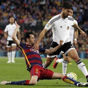 Busquets Barça Valencia