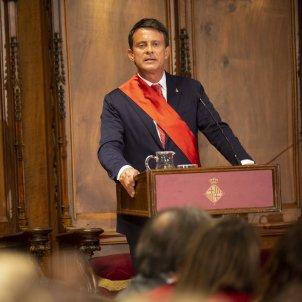 Valls Ple Constitucio Ajuntament de Barcelona - Sergi Alcàzar