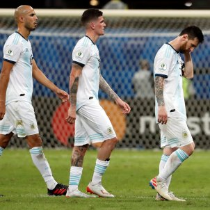 Messi De Paul Guido Pizarro Saravia Argentina Colombia EFE
