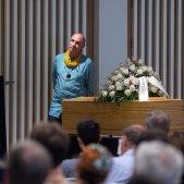 funeral Laura Almerich - efe