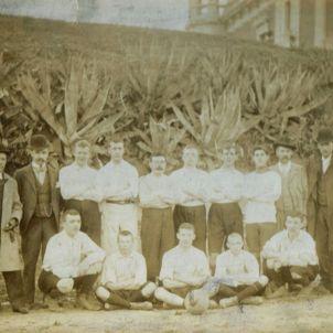 Futbol. F.C. Escocès, embrió de l'U.E. Sant Andreu
