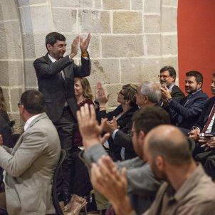 Constitucio ple de la Cambra Joan Canadell Sergi Alcàzar