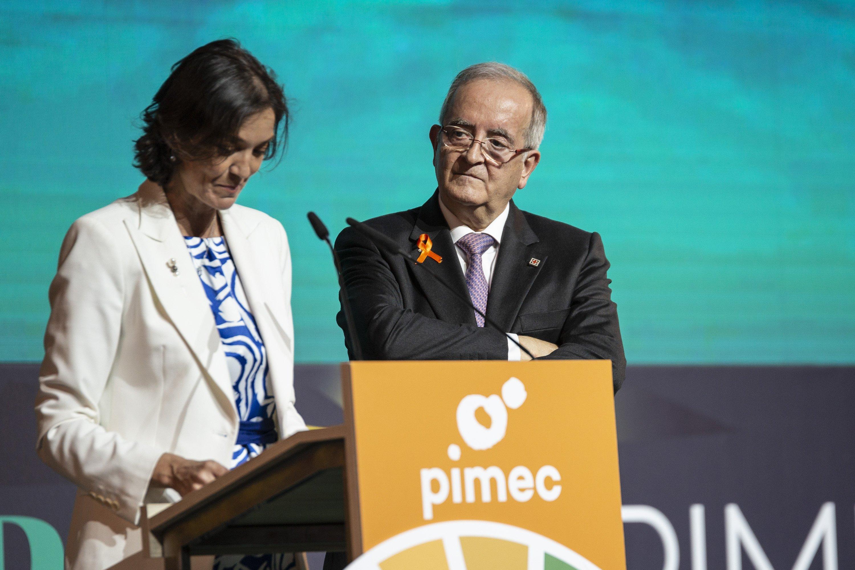 Reyes Maroto Josep Gonzalez Premis Pimec 2019 - Sergi Alcàzar