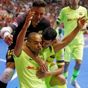 Santana Juanjo Barca Lassa El Pozo final LNFS @FCBfutbolsala