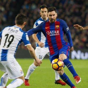 Leo Messi Barça Espanyol EFE