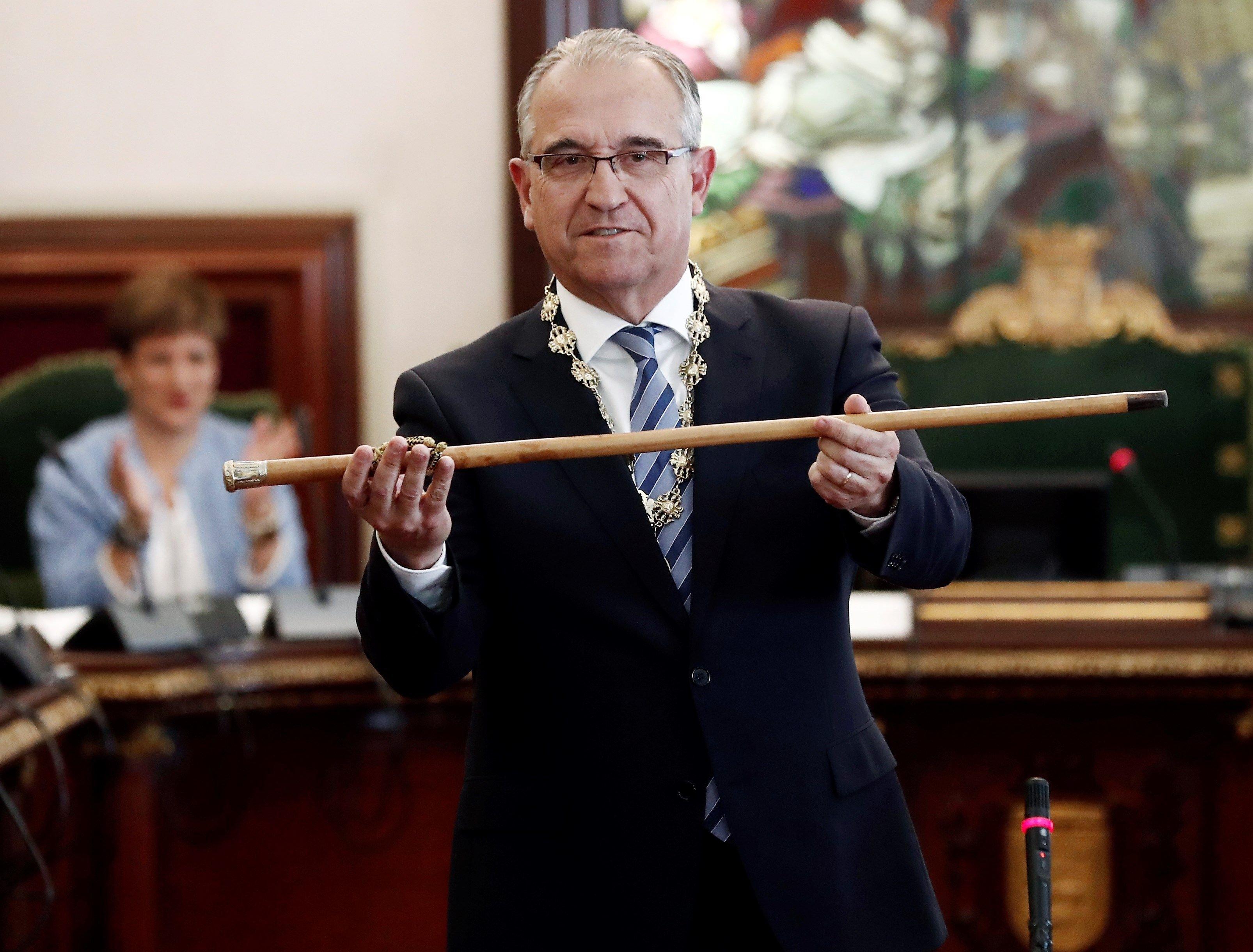 Enrique Maya, alcalde Pamplona EFE