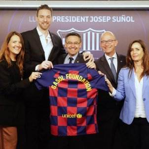 Pau Gasol Bartomeu Cardoner Barça FC Barcelona