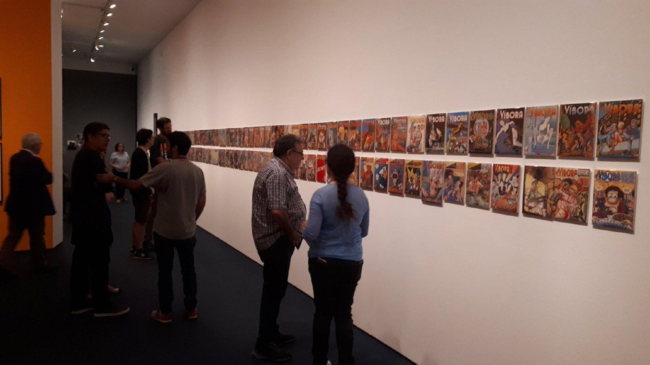 exposicio el vibora @MuseuNac_Cat