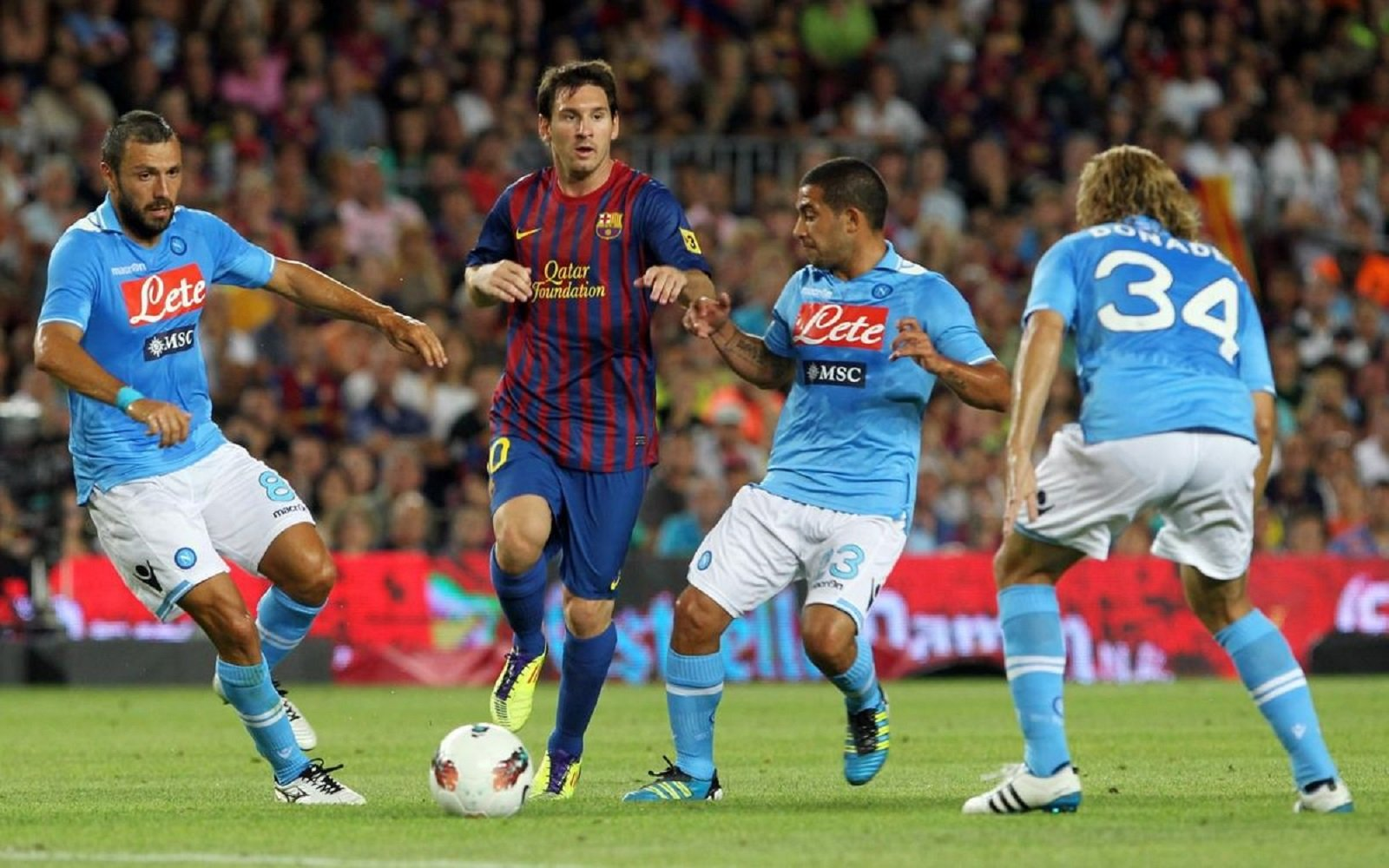 Messi Barça Nàpols FC Barcelona