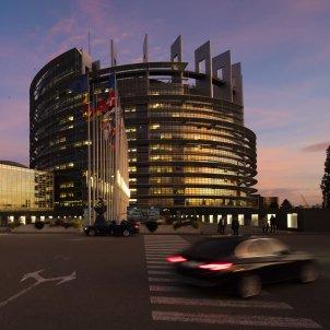 Parlament Europeu Edifici exterior Estrasburg / Marc DOSSMANN (Cedida per l'eurocambra)