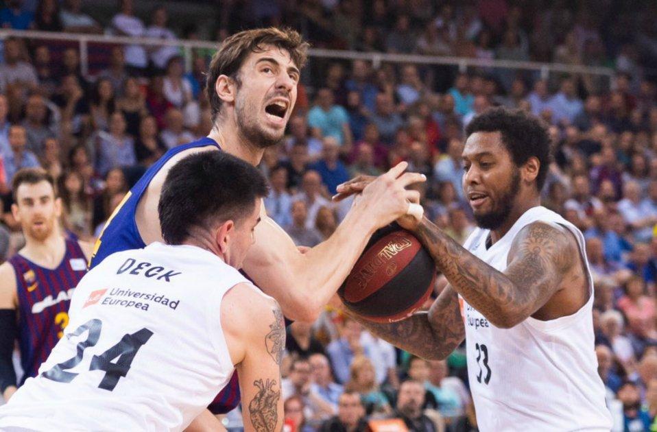 Tomic Barca Madrid Final ACB @FCBbasket