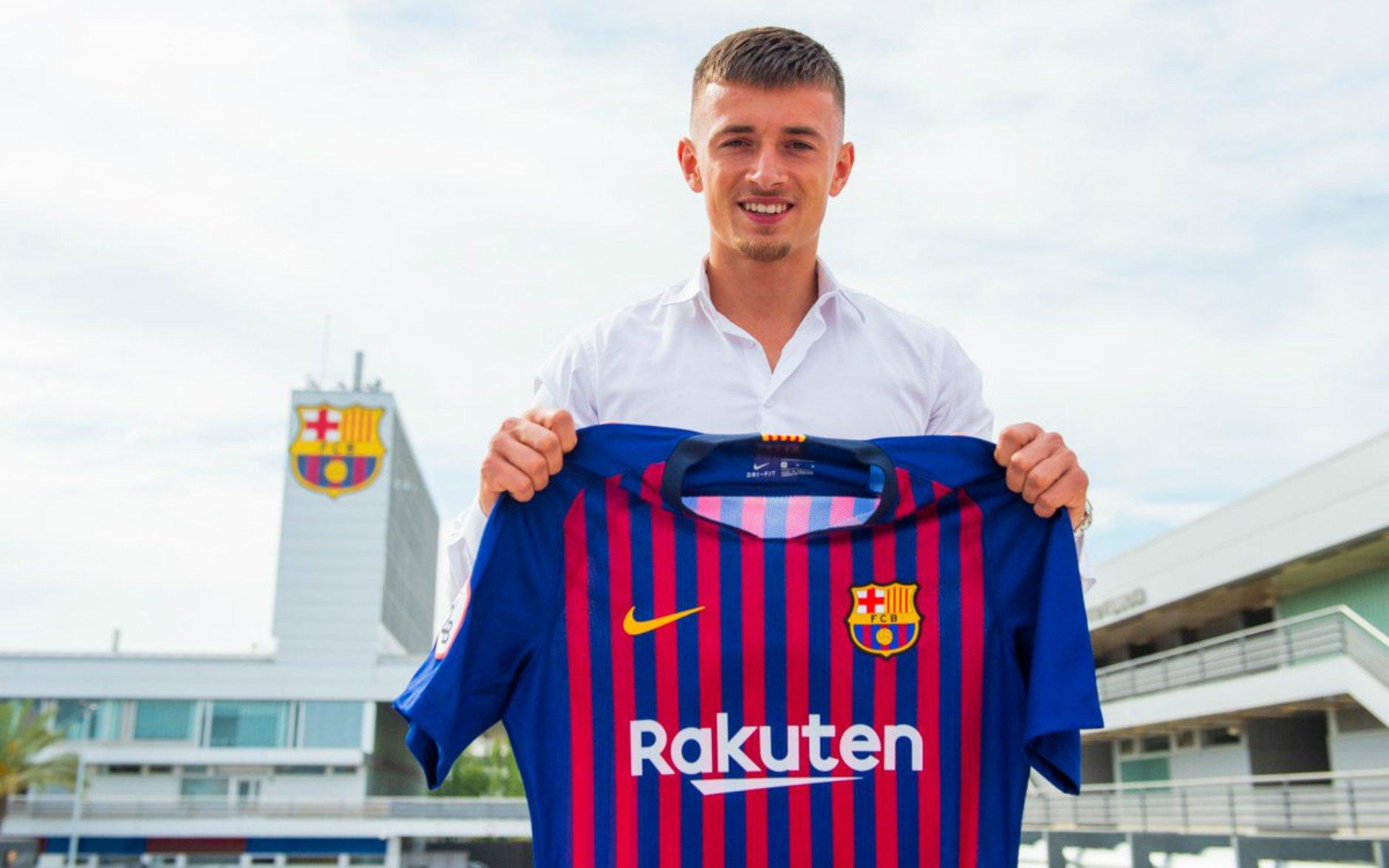Mike van Beijnen Barca B @FCBarcelonaB