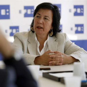 Cristina Dexeus presidenta associació Fiscals - Efe