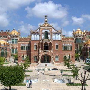 Domčnech i Montaner. Hospital de Sant Pau