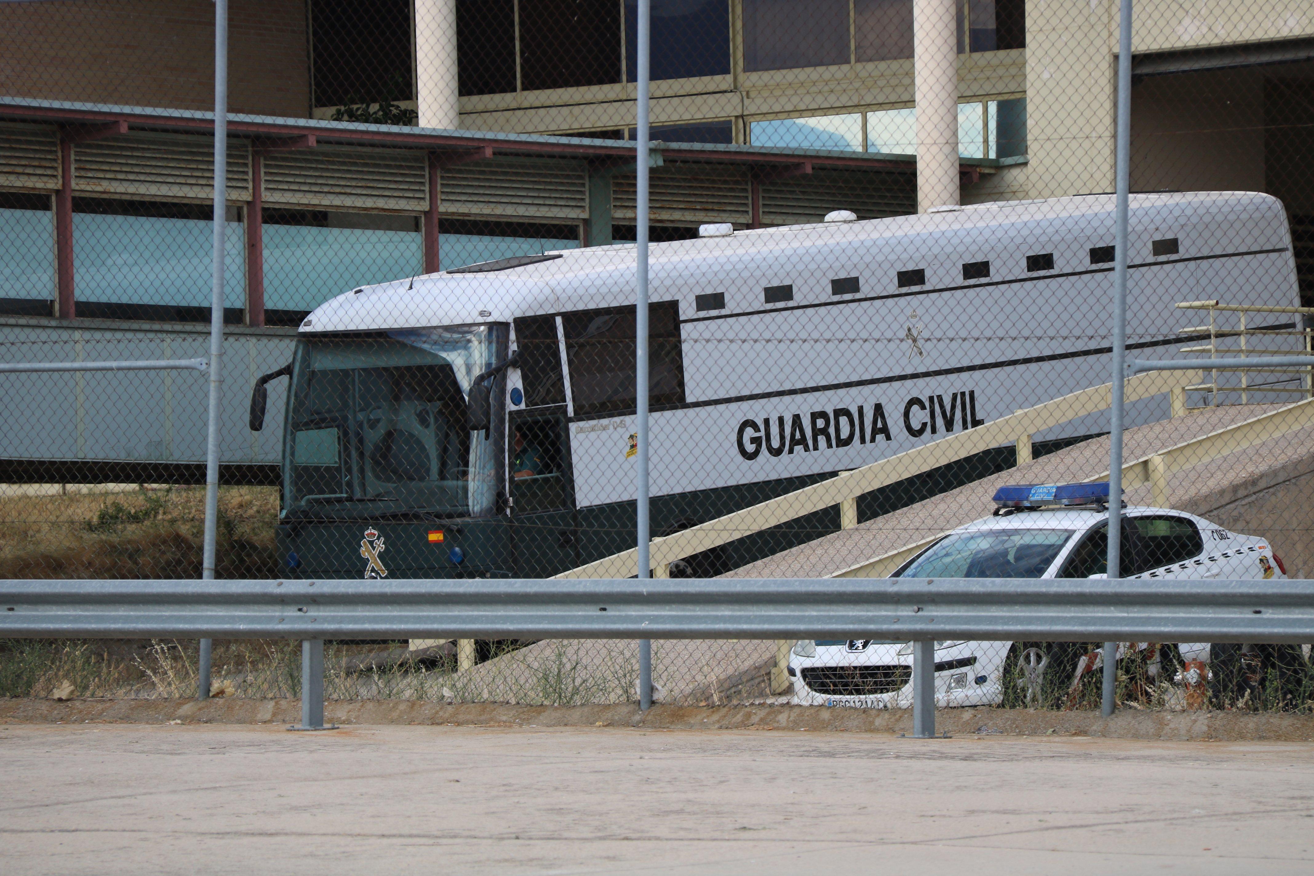 autocar presos guàrdia civil ACN