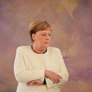 Angela Merkel temblores Berlín Efe
