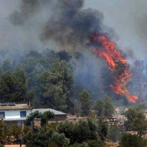 incendi riber ebre - efe