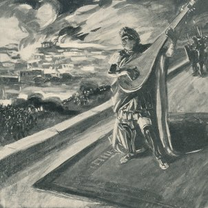 Neró incendi Roma (M. de Lipman)