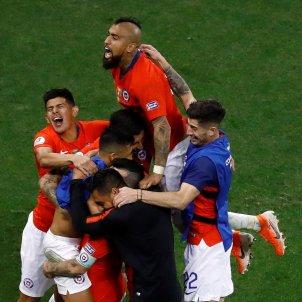 Arturo Vidal Xile Colombia Copa America EFE