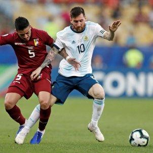Messi Argentina Venecuela Quarts Copa America EFE