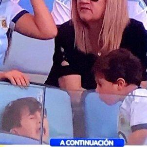 Mateo Thiago Messi Argentina Venecuela