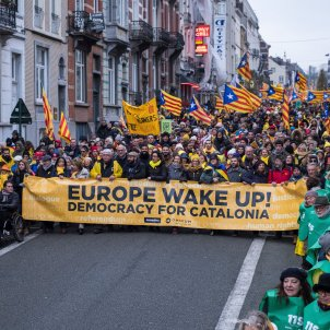 Manifestació Independentista Brussel·les UE - ACN