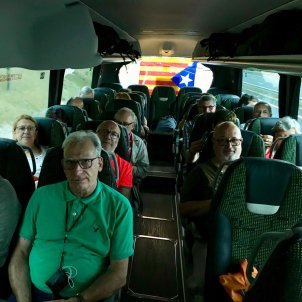 Autobus manifestacio Estrasburg