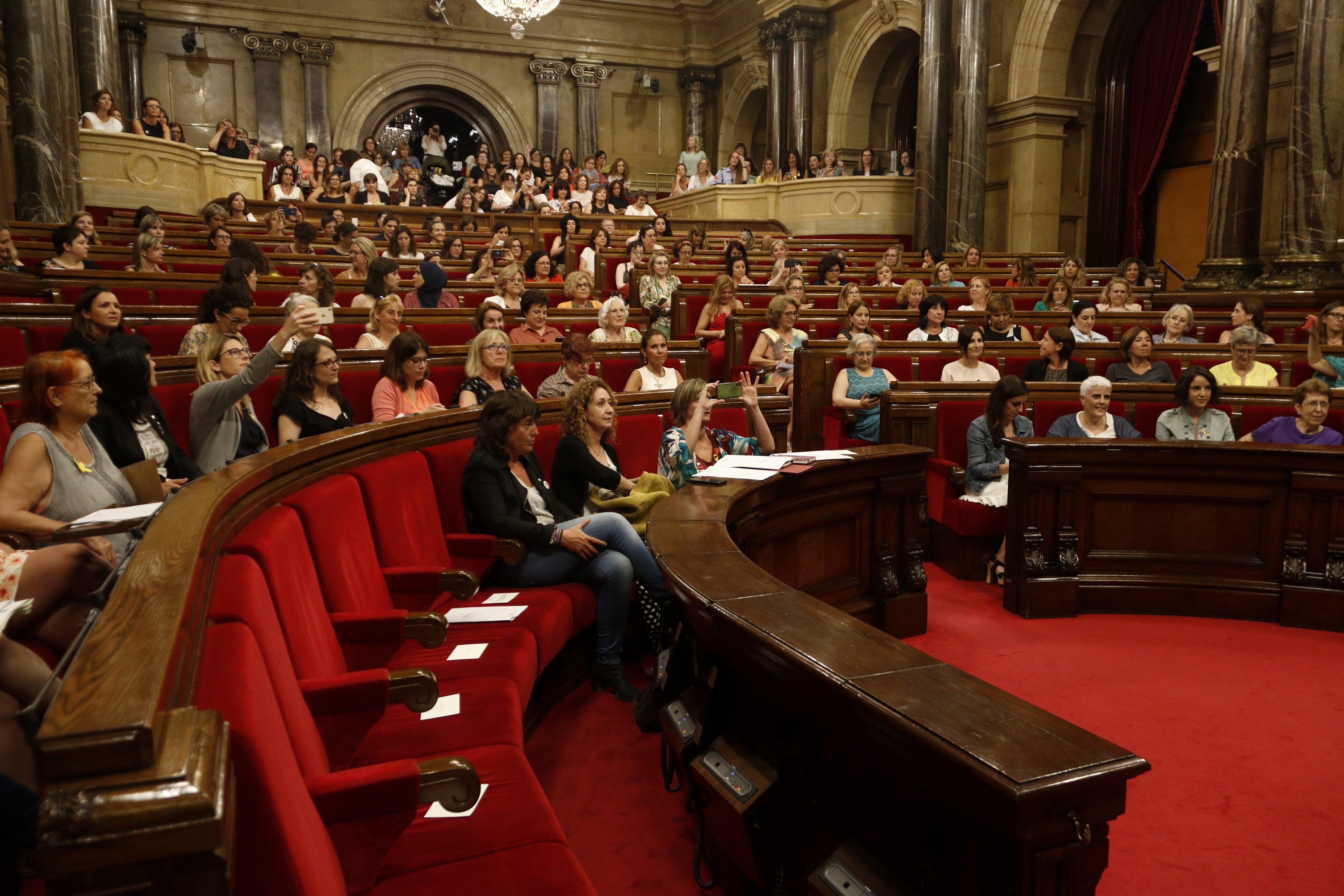 ple parlament de les dones   ACN