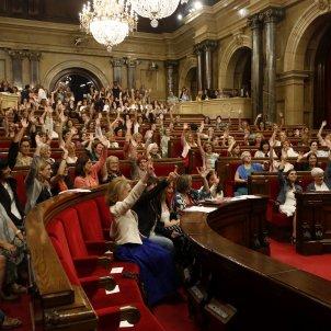 votacio declaracio ple dones parlament   acn